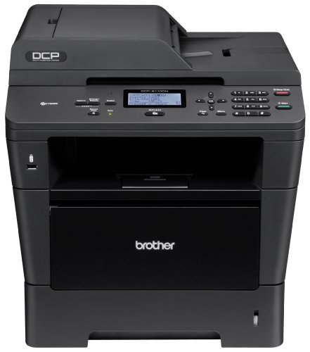 Brother Printer DCP8110DN Monochrome Printer with Scanner and Copier and Networking, Amazon Dash Replenishment Enabled