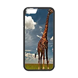 Yo-Lin case FXYL254648Giraffe and sunset protective case cover For Apple Iphone 6 Plus 5.5 inch screen Cases