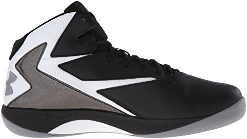 b109db089b0 ... Under Armour 1269281-002 Men s UA Lockdown Basketball Shoes 10.5 Black  ...