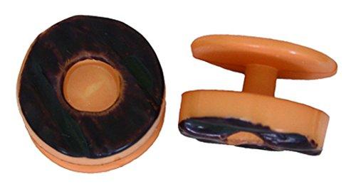 kochknopf de taille 12 noir Marron pices Trachten couleurs pfe Kochkn diffrentes unique boutons boutons de Cq4IP5Fw