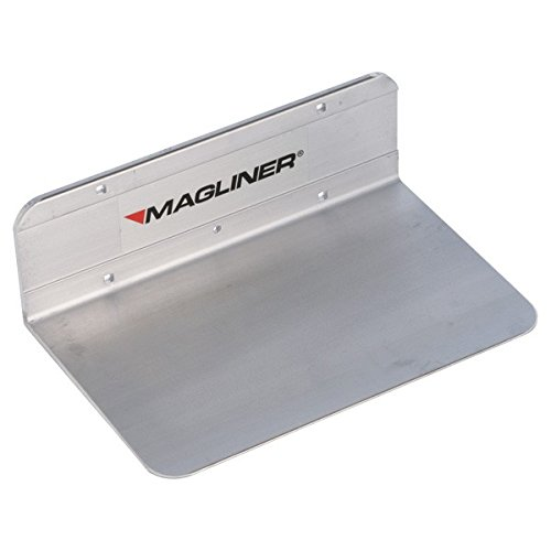 Extruded Plate Nose Aluminum - Magliner 300254 Extruded Aluminum Nose Plate, 500 lb Capacity, 14