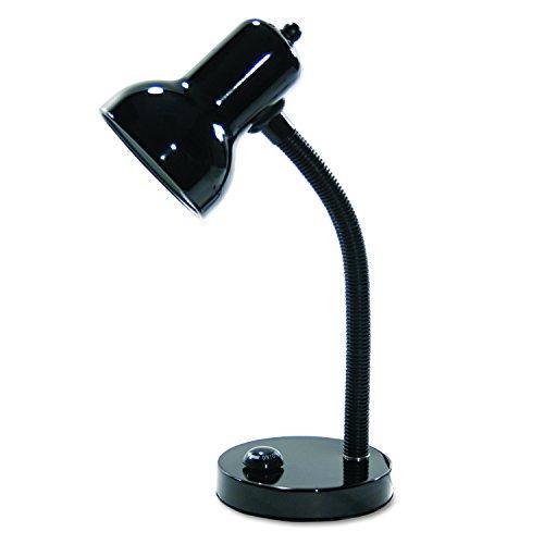 LEDU Gooseneck Desk Lamp, Black (L9091) (Ledu Gooseneck)