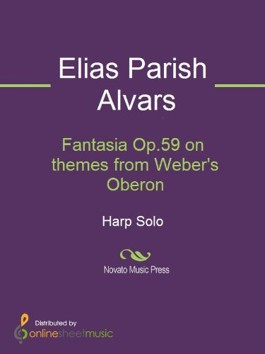 Fantasia Op.59 on themes from Webers Oberon - Harp