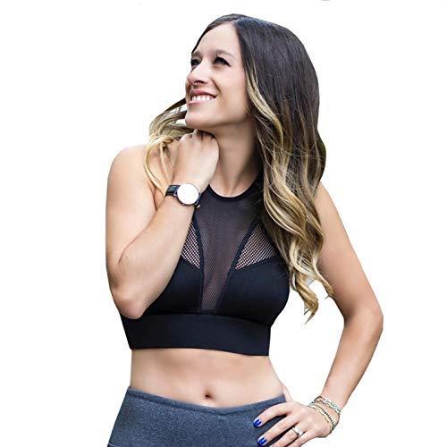 Women Gym Running Workout Yoga Tank Top Sports Bra Hollow