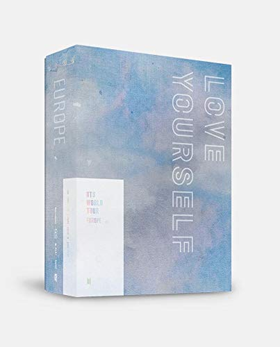 - BigHit BTS World Tour [Love Yourself Europe] DVD +128p Photobook+Postcard+Photocard+4 BTS Double Side Extra Photocards
