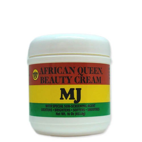 African Queen Beauty Cream Mj 16oz by AFRICAN QUEEN
