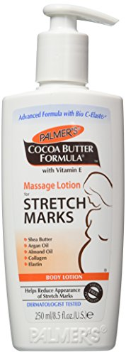 Price comparison product image Palmer's Cocoa Butter Formula Massage Lotion For Stretch Marks with Vitamin E and Shea Butter Women Body Lotion, 8.5 Ounce (Pack of 2)