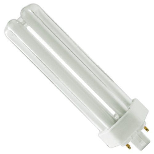 - Sylvania 20871 Compact Fluorescent 4 Pin Triple Tube 3500K, 42-watt