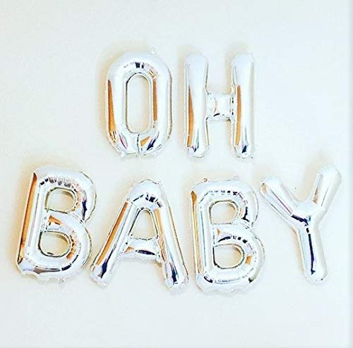 Oh Baby Balloons Baby Shower & Pregnancy Decorations - 16