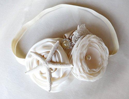 Cream and Champagne Mermaid Natural Starfish (Starfish Champagne)