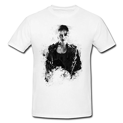 Terminator Genisys T-Shirt Herren, weiß mit Aufdruck