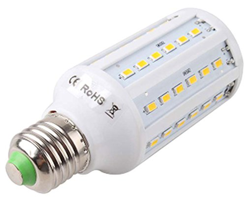 AmaranTeen - E27 15W 60 LED 5730 SMD Corn Spotlight Light (Del Amo 15 Light)