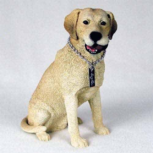 Labrador Retriever Yellow My Dog (Yellow Labrador Dog Figurine)
