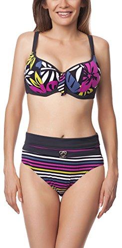 Antie Bikini Conjunto para mujer Kalimos S Grafito