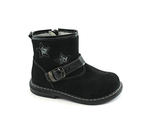 Balocchi Spielzeug 973 826 25/29 Champ Schwarze Schuhe Babyschuhe Zip Nero