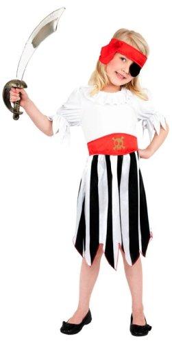 Smiffys Pirate Girl Costume Medium