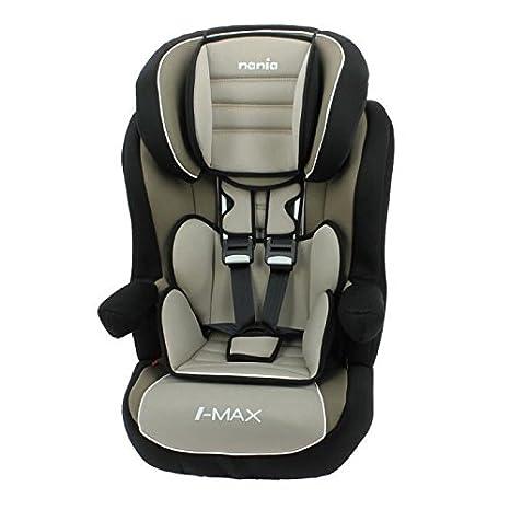 NANIA Alzador Grupo 1/2/3 respaldo + arnés I-Max Isofix Premium ...