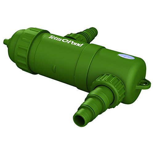 TetraPond UVC-5 GreenFree UV Clarifiers For Up To 660 Gallons, 5-Watt