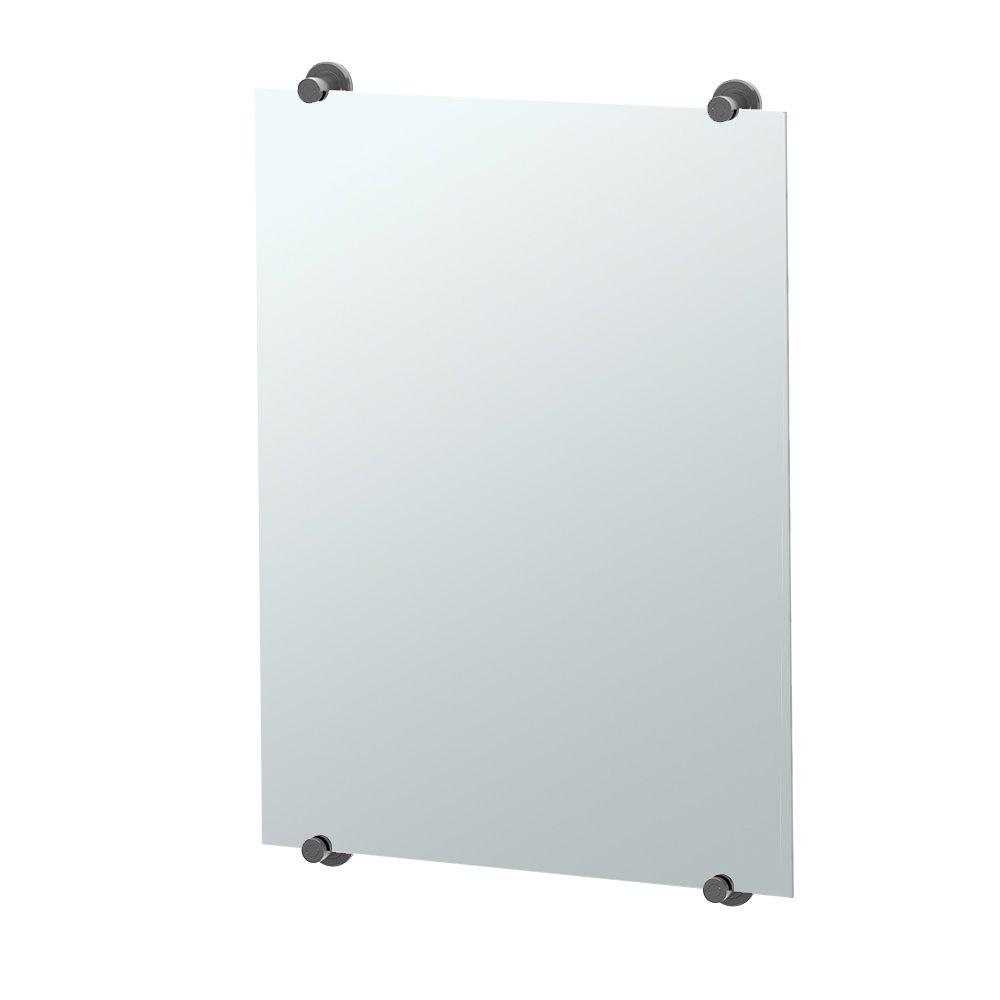 Gatco 1561MX Latitude II Bathroom Minimalist Mirror, 30-Inch, Matte Black by Gatco