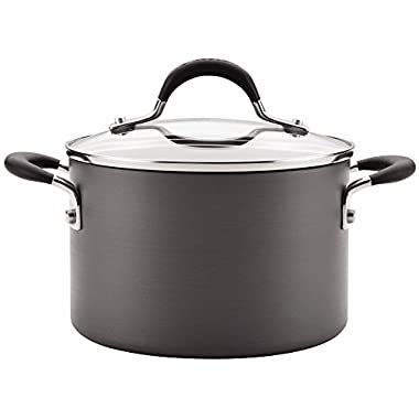 Circulon Momentum Stainless Steel 3 Quart Covered Saucepot
