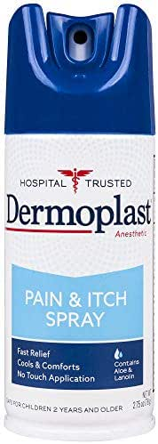 Dermoplast Pain & Itch Spray, 2.75 Ounce Can