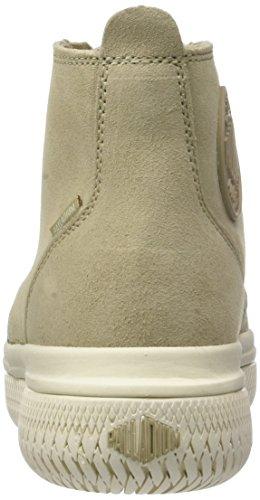 Palladium Crushion su U, Sneaker a Collo Alto Unisex-Adulto Beige (Safari)