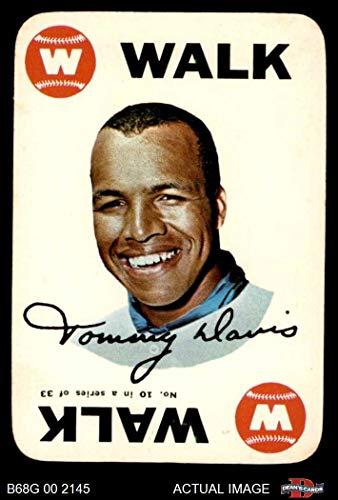 1968 Topps Game # 10 Tommy Davis Chicago White Sox (Baseball Card) Dean's Cards 4 - VG/EX White Sox