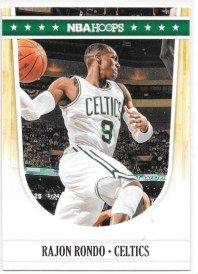 (Rajon Rondo 2011-12 NBA Hoops Boston Celtics Card #15)