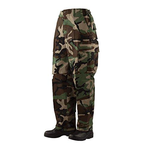 (Tru-Spec Classic BDU Trouser Cotton Ripstop Woodland 4XL-Reg 1505009)