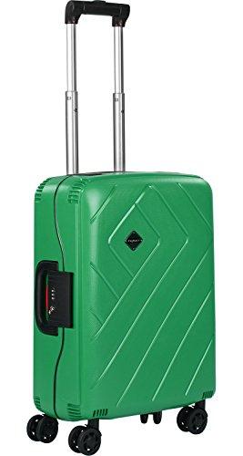 FRANKY Trolle PP3 S Handgepäck Rahmenkoffer grün