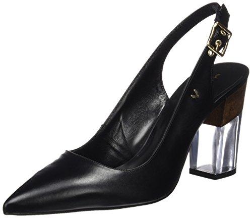 Martinelli WoMen Ibor Sling Back Heels Black (Black Black)
