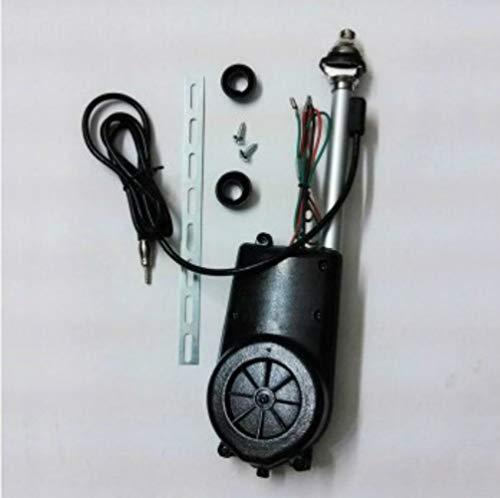 YUSHUN Power Antenna Car 12v Auto Car Antenna Mast Aerial AM&FM Radio Auto Power Antenna Universal