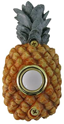 Company's Coming DBP-075 Pineapple Painted Doorbell Cover