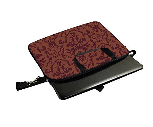 Snoogg Laptop Netbook Computer-Tablette PC -Schulter-Kasten -tragender Hülsen- Beutel-Beutel- Abdeckungs-Schutz- Halter für Apple iPad / Hp Touchpad Mini 210 T100 PS Touchpad Mini t100ta / Acer Aspire
