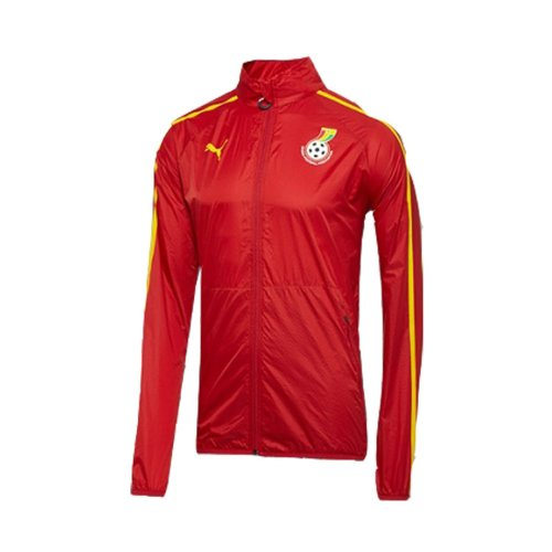 (Puma Ghana Walk Out Jacket Red World Cup 2014 (M))