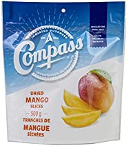 Compass Dried Mango Slices, Kosher Certified, 500 Grams