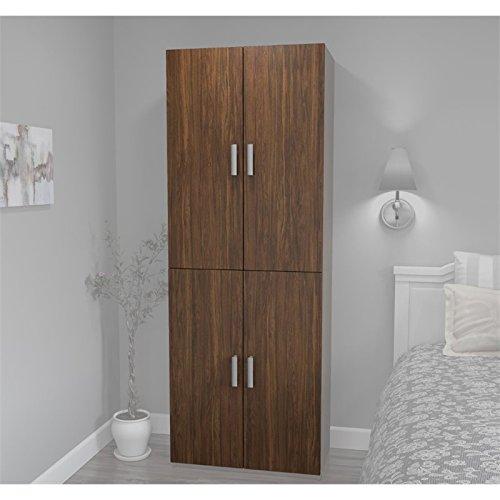 Bestar Cielo 4 Door Set for 29.5'' Storage Unit in Oak Barrel by Bestar
