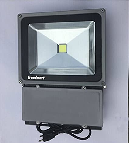 cool outdoor lights garage trendmart led flood light 100w cool white outdoor lighting garden come with us standard amazoncom