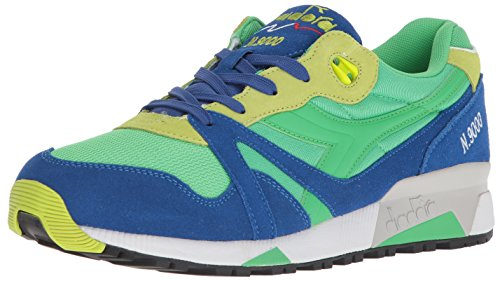 Image of Diadora N9000 Men Round Toe Synthetic Blue Sneakers