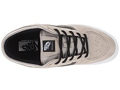 5790f84a5a9 Image Unavailable. Image not available for. Color  Vans Mens  Rowley  Pro  Taupe Skate Boarding Shoes ...