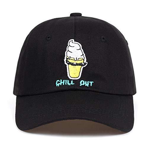 FUZE New Men Women Cartoon Embroidery Dad Hat Cotton Baseball Cap Unisex Hip-Hop Snapback Cap