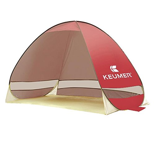 PIGE Strandzelte Sun Sun Shade Zelte Automatik Outdoor Open Fishing Single Doppelzelte