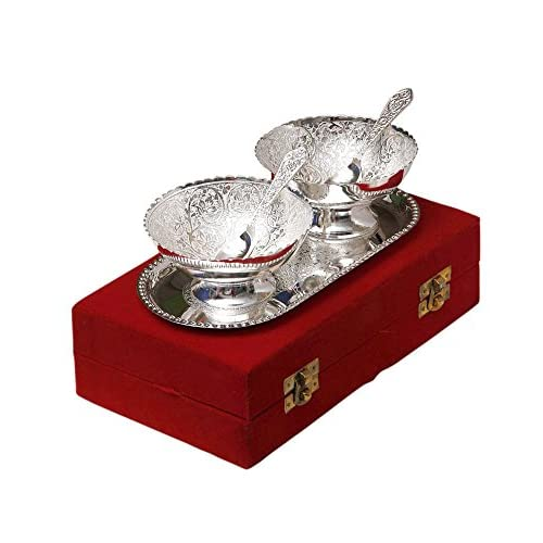 Silver Gifts For Indian Wedding: Silver Plated Gifts: Buy Silver Plated Gifts Online At