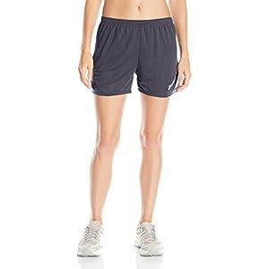 ASICS Women's Rival Ii Shorts, Medium, Steel Grey