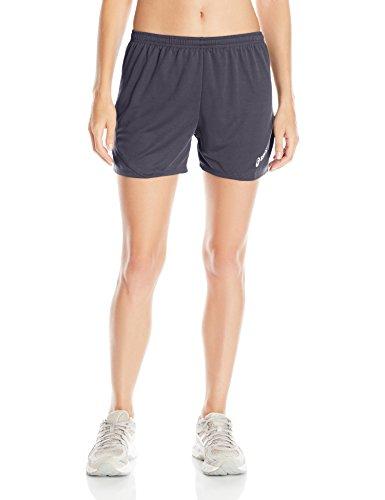 ASICS Women's Rival Ii Shorts, Medium, Steel - Shorts 4 Running Inseam Inch