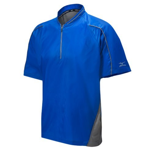 - Mizuno Protect Batting Jersey, Royal, Small