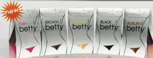 Betty Beauty Color For The Hair Down There   Brown Betty