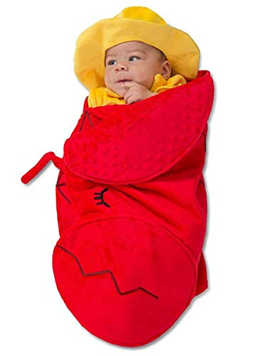 Princess Paradise Swaddle Wings Lobster Fisherman Baby Costume, As Shown, 0-3 Months -