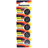 Panasonic CR2450 3V Lithium Battery Pack (5PCS) Single-use Battery [Parallel Import Goods]