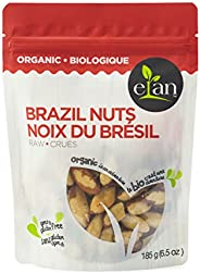 ELAN Organic Raw Brazil Nuts 185 Gram